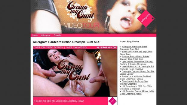 CreamMyCunt - SiteRip