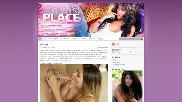 ChicasPlace - SiteRip