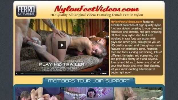 NylonFeetVideos - SiteRip