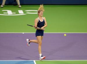 Genie Bouchard - World Team Tennis in NYC - 07/27/2017