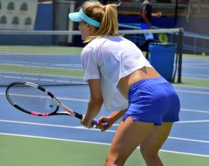 Genie Bouchard - Citi Open in Washington, DC - 07/31/2017